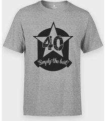 koszulka 40 simply the best