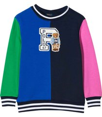 ralph lauren multicolor sweatshirt with application