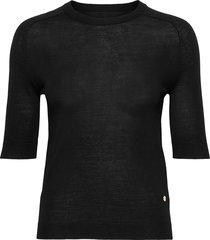 day whitney t-shirts & tops short-sleeved svart day birger et mikkelsen