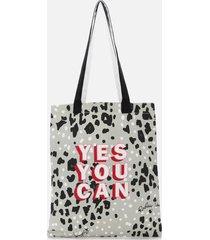 radley women's motivational radley medium tote bag - aluminium