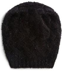 dolce & gabbana slouchy cashmere beanie - black