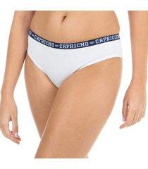calcinha boneca branco capricho college - 520.023 capricho lingerie boneca branco