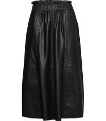 long skirt knälång kjol svart depeche