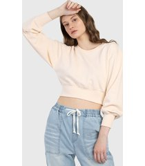 buzo beige forever 21