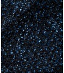 cappotto da uomo su misura, vitale barberis canonico, blu melange, autunno inverno | lanieri