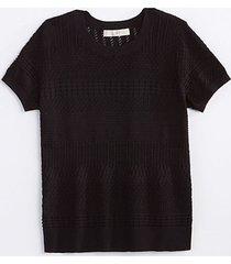 loft stitched sweater tee