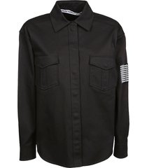 alexander wang chest pocket shirt