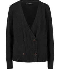 cardigan con bottoni (grigio) - bpc bonprix collection