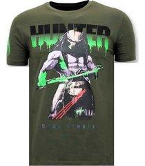 t-shirt korte mouw lf stoere predator hunter
