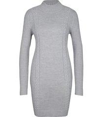 abito in maglia a collo alto (grigio) - bpc bonprix collection
