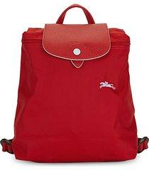 logo nylon backpack