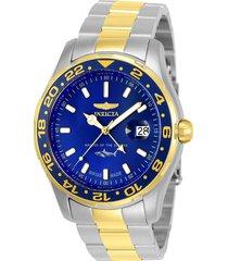 reloj invicta 25826 multicolor acero inoxidable