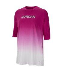 camiseta jordan feminina