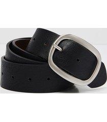 lane bryant women's reversible perforated belt - black 26/28 black