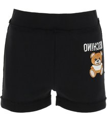 moschino inside out teddy bear shorts