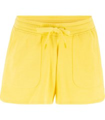 shorts in felpa con coulisse (giallo) - bpc bonprix collection