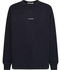 acne studios branded sweatshirt