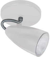 spot de sobrepor para 1 lâmpada 60w 110v globo branco