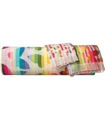 missoni josephine bath towel, size one size - red