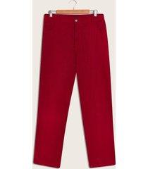 pantalon rojo 40