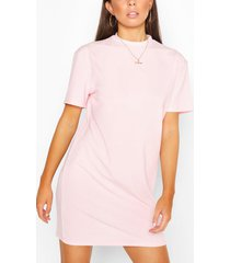 longline rib t-shirt, blush