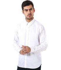 ben sherman mens dobby twill formal shirt size 17 in white