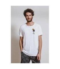 camiseta bordado palms armadillo masculina