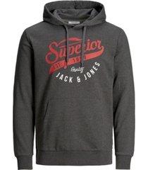 men's long sleeve logo graphic sweatshirt
