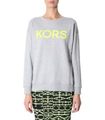 michael michael kors sweatshirt with logo print