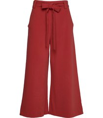 boh whisper cropd flare trs wijde broek rood french connection
