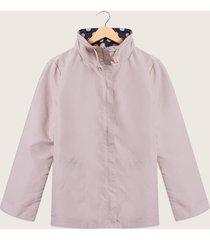 chaqueta doble faz lila-azul patprimo