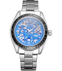 reloj mecánico de acero inoxidable a5 para hombres. trabajo