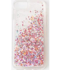 rose gold liquid glitter phone case - rose/gold
