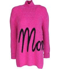 moncler maxi turtleneck sweater