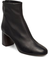 nadia - soft heel boot shoes boots ankle boots ankle boot - heel svart 3.1 phillip lim