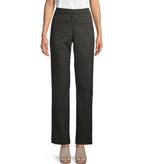 barrow straight print trousers