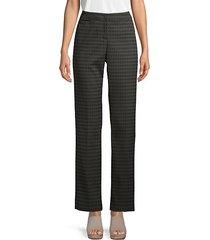 barrow straight print trousers
