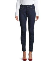 true religion women's jennie high-rise curvy skinny jeans - dark - size 26 (2-4)