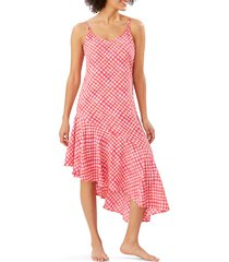 women's tommy bahama harbour island asymmetrical ruffle midi dress