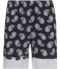 msgm paisley shorts