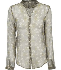 massimo alba all-over print shirt