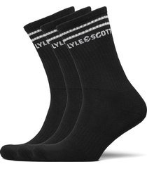 walter underwear socks regular socks svart lyle & scott