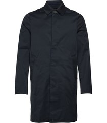 cane micro twill coat tunn rock blå j. lindeberg