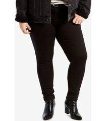 levi's trendy plus size 711 skinny jeans