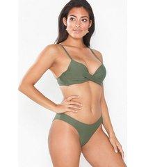 nly beach brazilian bikini panty trosa grön