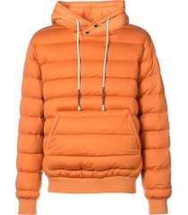 mostly heard rarely seen quilted pullover - yellow