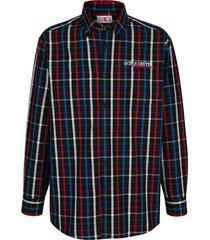 overhemd roger kent marine::rood::royal blue