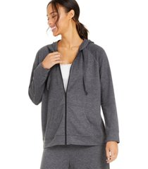 style & co french terry hoodie, created for macy's