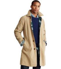 polo ralph lauren men's reversible balmacaan coat