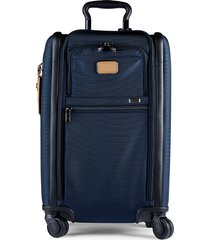 tumi alpha dual access 22-inch nylon suitcase - navy